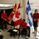 Equipe de football du Canada -Campus de l'Université Libanaise, village de la FrancophoniePhoto Jean-Yves Ruszniewski / CIJF