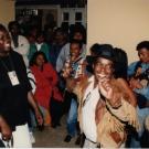 Ambiance au Caf'Art, Jeux de la Francophonie Madagascar 1997 © CIJF / Jacques Legoff