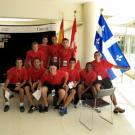 Equipe de football du Sénégal -Campus de l'Université Libanaise, village de la FrancophoniePhoto Jean-Yves Ruszniewski /CIJF