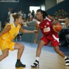Basket Feminin : Match préliminaire Chypre / Tunisie (66/42) Jeux de la Francophonie Liban 2009© CIJF/ Jean-Yves Ruszniewski