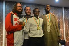 Les médaillés en Littérature (nouvelle) VIIIes Jeux de la Francophonie