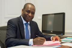 Adama Ouane Administrateur de l'Organisation Internationale de la Francophonie