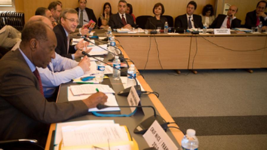 Réunion du Conseil d'Orientation du CIJF, 24 juin 2010 © CIJF / Patrick Lazic